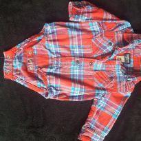 Body Camisa - 9 meses - Oshkosh B´gosh e Ampelman