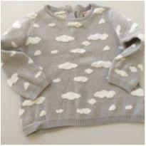 Suéter da Zara - nuvens - 24 a 36 meses - Zara