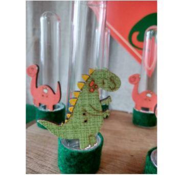 Tubetes Personalizados - Festa Dinossauro - Sem faixa etaria - Feito à mão