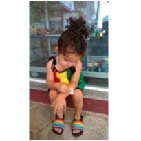 vestidinho Reggae - 3 anos - Não informada