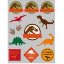 Transfer Dinossauro ! adesivo ( 4 cartelas ) -  - Não informada