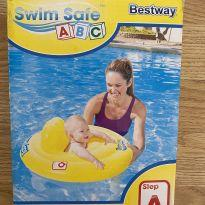 Boia circular inflável infantil Swin Safe ABC com assento 69cm -  - Bestway