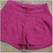 short kamylus flanelado pink - tamanho 6 - 6 anos - KAMYLUS