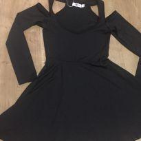 Vestido preto importado - tamanho 16 - 14 anos - Importada