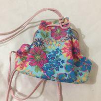 Bolsinha de costas floral -  - Não informada