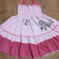 Vestido Rosa Bicho Comeu - tamanho 4 - 4 anos - Bicho Comeu