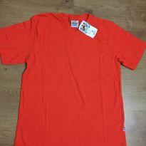 Camiseta de menino Abrange laranja - tamanho 14 - 14 anos - Abrange