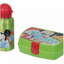Kit De Lanche Disney Garrafa E Sanduicheira Mickey - DTC -  - DTC
