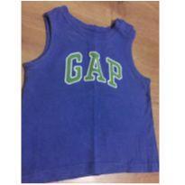 Camiseta Regata Baby Gap - Tamanho 18-24 meses - 18 a 24 meses - Baby Gap