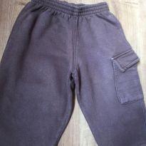 Calça de moletom quentinha marrom - tamanho 2 - 2 anos - flajô