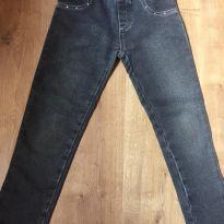 Calça legging jeans preta - Tamanho 6 - 6 anos - Have Fun