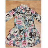 Vestido da Puc estampado - Tamanho 4 - 4 anos - PUC