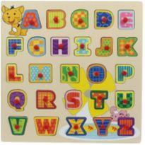 Encaixe e Brinque Letras do Alfabeto -  Dican -  - Dican