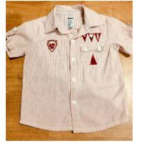 Camisa Trick com botões - Tamanho 2 - 2 anos - Trick