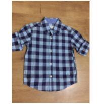 Camisa manga longa xadrez Carter`s - Tamanho 3T - 3 anos - Carter`s