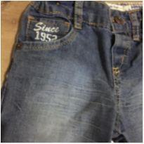 Calça jeans Baby Club c/ regulador - Tamanho 6-9 meses - 6 a 9 meses - Baby Club