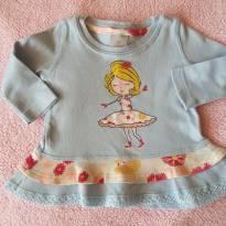 Blusa Menininha - 6 a 9 meses - PUC