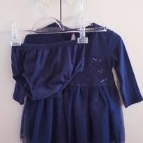 Vestido Tule - 9 a 12 meses - Tip Top