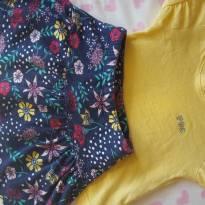 Conjunto Amarelo Flor - 1 ano - PUC