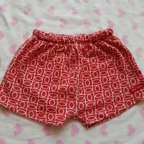Shorts vermelho - 6 a 9 meses - Green