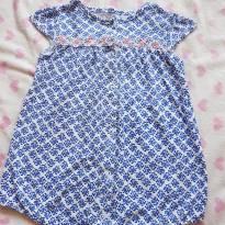 Macaquinho azul - 18 meses - Carter`s