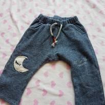 Calça Lua - 9 a 12 meses - Zara Baby
