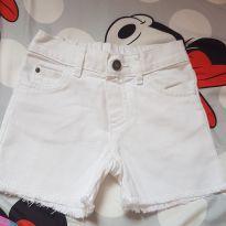 Shorts branco - 24 a 36 meses - Carter`s
