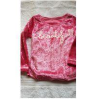 Blusa pink - 24 a 36 meses - Não informada