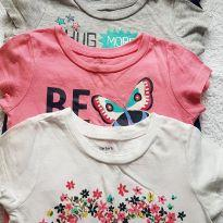 Kit camisetas - 18 a 24 meses - Carter`s