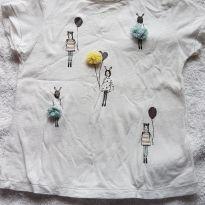 Camiseta menina - 12 a 18 meses - Zara