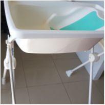 Banheira Branca/suporte/redutor de assento -  - Burigotto