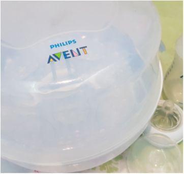 Esterilizador + 3 Mamadeiras pico pétala Avent - Sem faixa etaria - Avent Philips