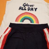 Conjunto regata + shorts - 3 anos - Hering Kids