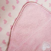Cobertor peluciado coração -  - Não informada