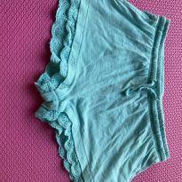 Shorts azul bebê - 4 anos - Zara