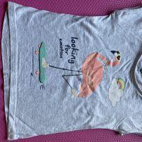 Camiseta Flamingo - 3 anos - Baby Club