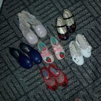 Lote de sapatos menina 24/25 - 24 - Sem marca