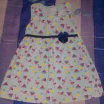 02 Vestido . - 2 anos - Pinguinho
