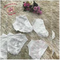 Kit calcinhas brancas - 1 ano - Sem marca