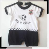 Romper Corinthians oficial ▪︎ Marca Revedor ▪︎ Tamanho M - 6 meses - REVERSI
