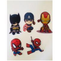 10 termocolantes super herois -  - Sem marca