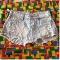 Shorts saia jeans - 14 anos - jezzian
