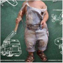 Macacão Jeans - 2 anos - art Kids