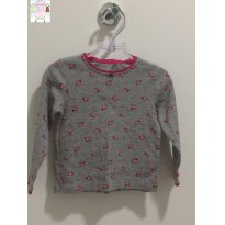 CAMISETA FLORAL - 18 meses - Carter`s