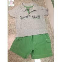 Conjunto Calvin Klein - 1 ano - Calvin Klein