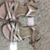 Sandália rosa cintilante - 25 - gambo