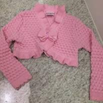 Bolero em linha cor de rosa - 2 anos - Color Girl