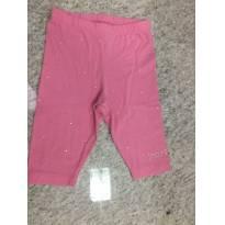Shorts com strass colante - 1 ano - Momi