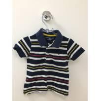 Camiseta listrada Tommy - 18 meses - Tommy Hilfiger