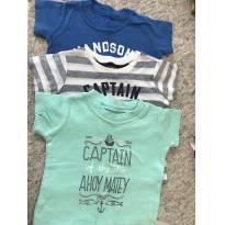 3 camisetas Carter
